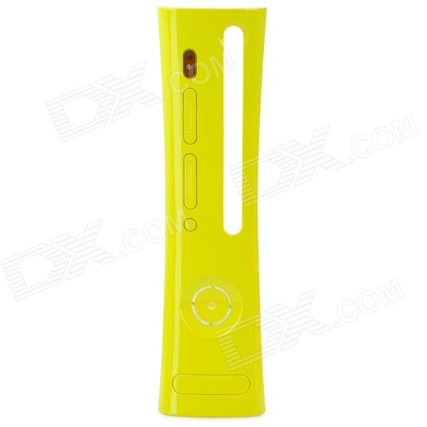 Replacement Plastic Front Shell Faceplate for Xbox 360 - Yellow