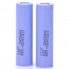 Samsung 18650 2800mAh Rechargeable Batteries - Purple (2-Piece Pack)
