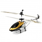 Apple / Android Phones Controlled Rechargeable 3-CH R/C Helicopter w/ Gyroscope - Golden + Black