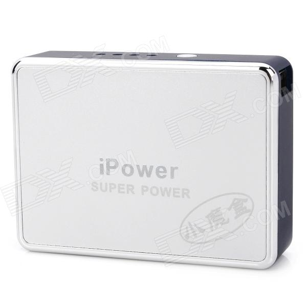 High Capacity 6800mAh Mobile Power Battery Charger w / Ladeadapter - Dunkelblau
