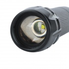 X2000 Flood-to-Throw Zooming Glass Optics Cree P4-WC LED 200lm Flashlight (1*18650)