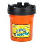 Auto Car Butt Bucket Extinguishing Ashtray - Black + Orange