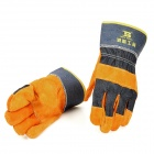 BOSI Professional Anti-Static Welding Glove - Black + Yellow (1-Pair)
