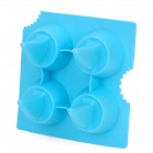 Silicone Mini Shark Shape Ice Cubes Trays Maker DIY Mould - Blue