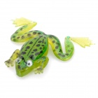 Lifelike Frog Style No-hook Fishing Lure Bait - Green