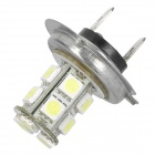 3.9W 13-LED 6000~7000K 234LM White Light Bulbs for Car - White + Silver (12~24V)