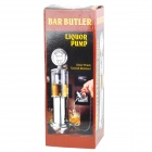 Gas Nozzle Pump Beer Drink Liquor Dispenser - Silver (900ml)