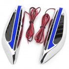 1W 8-LED 10lm Blue Light Car Steering Lamp (12V / 2-Piece)