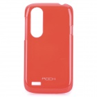 ROCK Protective PC Plastic Hard Case for HTC T328W - Red