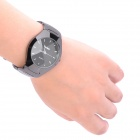 Elegant Water Resistant Men's Quartz Wrist Watch - Black
