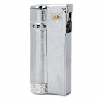 Stylish Torch Style Fuel Lighter - Silver