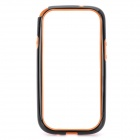 Protective ABS Bumper Frame Case for Samsung i9300 Galaxy S3 - Black + Orange
