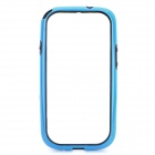 Protective ABS Bumper Frame Case for Samsung i9300 Galaxy S3 - Black + Blue