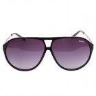 OREKA WG002 Fashion Black Horn-rimmed Sunglasses - Black + Tawny