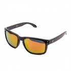 Elegante Oreka Sports Polarized Glare-Guard TAC Lens Proteção UV400 Sunglasses - Black