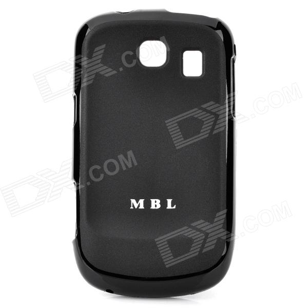 MBL Protective Silicone Jelly Case for Samsung S3850 - Black