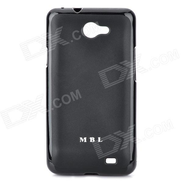 MBL Protective Silicone Jelly Case for Samsung i9103 Galaxy R - Black