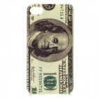100 Dollars Pattern Protective PC Back Case for Iphone 4 / 4S - Grey
