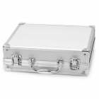 Exquisite Multi-function Metal Storage Box - Silver (24.8 x 19.8 x 8cm)
