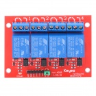 4-Channel Relay Shield Module for Arduino (Works with Official Arduino Boards)