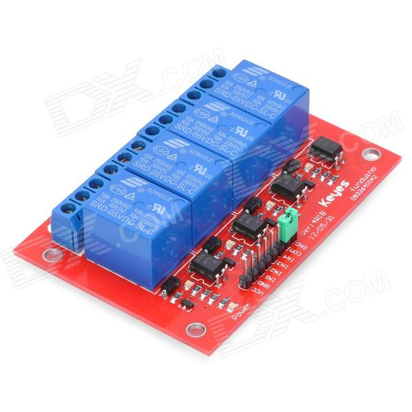 Channel relay shield module for arduino free shipping