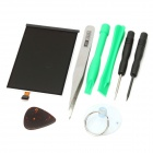 Replacement LCD Display Panel Screen w/ Disassembly Tools Kit for Ipod Touch 3 - Black (8-Piece Set)