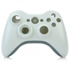 Replacement Full Housing Case w/ Buttons Set for Xbox 360 Wired Controller - White