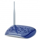 TP-LINK TD-W89741N 5-Port 150Mbps Wi-Fi Router w/ Antenna - Blue + Grey