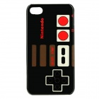 Nintendo Gaming Controller Style Protective PC Back Case for iPhone 4/ 4S -Black + Red