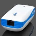 HAME A100 2-in-1 Portable 3G Wi-Fi Router w/ Rechargeable 5200mAh Battery - Blue + White