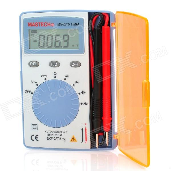 MASTECH Ultra-Slim Compact 1.7 LCD Digital Multimeter - Blue (2 x LR44) atlas mavros ultra digital 1 5m