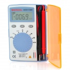 "MASTECH Ultra-Slim Compact 1.7"" LCD Digital Multimeter - Blue (2 x LR44)"