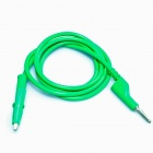Banana Plug to Alligator Clip Test Probe Cable - Green