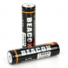 "BEACON 18650 ""3200""mAh Rechargeable Battery - Black (2-Piece Pack)"