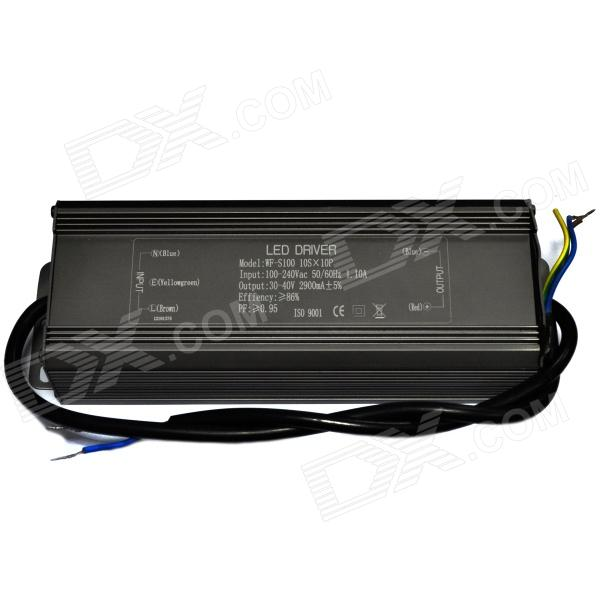 Water Resistant 100W LED Constant Current Source Power Supply Driver (90~265V)