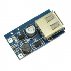 USB-DC 3 ~ 4,4 V bis DC 5.5V Spannung Step Up Boostmodul - Blue