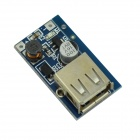 USB DC 3~4.4V to DC 5.5V Voltage Step Up Boost Module - Blue
