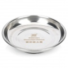 Round Shaped Stainless Steel Magnetic Tray Small Parts Dish - Silver