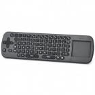 Measy RC12 2.4GHz Wireless 1000DPI Optical Air Mouse + Keyboard Combo - Black (3 x AAA)