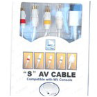 S-Video and Composite Video Audio AV Cable for Wii