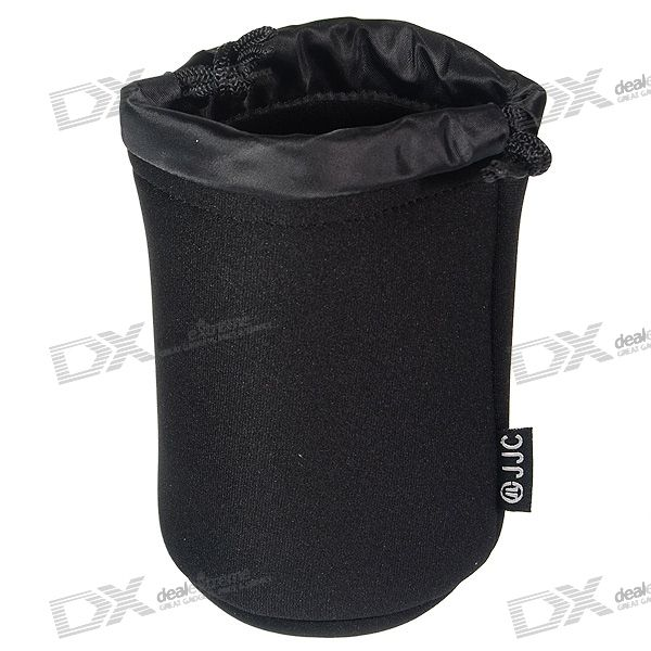 JJC JN21 Protective Water-Resistent Pouch Bag for Standard Camera Lens (85mm*120mm)
