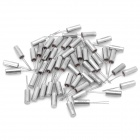 Electronic DIY Cylinder Style 12MHz Crystal Oscillators - Silver (50-Piece Pack)
