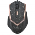 Genius X3 Professional 2000dpi USB Optical Wired Gaming Mouse - Black + Golden