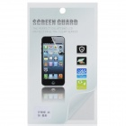 3D Diamond Sharp Glossy Front / Back Screen Protector / Guards + Cleaning Cloth - Transparent