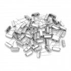 Electronic DIY 12.288MHz Crystal Oscillators - Silver (50-Piece Pack)