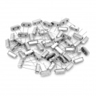 Electronic DIY 24MHz Crystal Oscillator - Silver (50-Piece Pack)