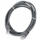 RJ45 Male to RJ45 Male Network Jumper Cable - Dark Grey (2M)