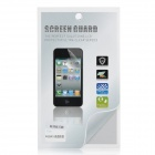 Glossy Front / Black Screen Protector / Guards + Cleaning Cloth for Iphone 4 / 4S (1-Set)