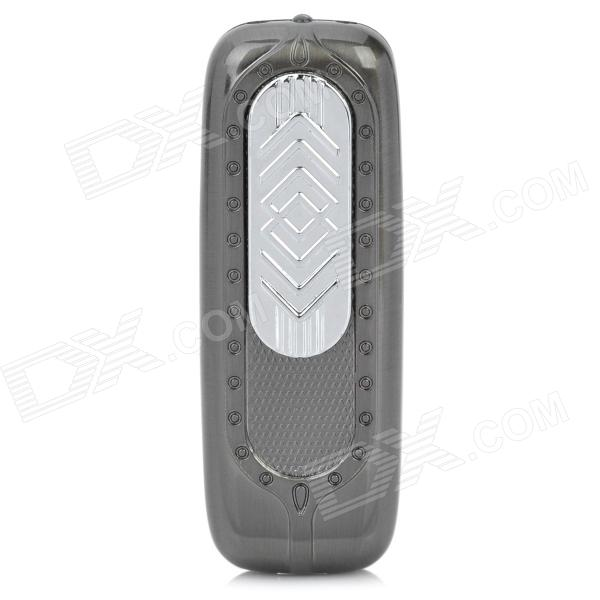 USB Rechargeable Electronic Cigarette Lighter w/ Money Detector - Silvery Grey