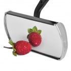 Aluminum Alloy Motorcycle Anti-Glare Rearview Mirrors - Black (2-Piece)